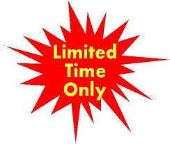 Special Offer While Stock Lasts!!