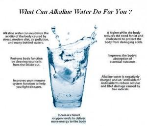 alkaline water benefit